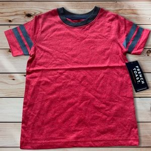 French toast boys 4T ringer t shirt NWT